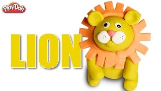 Play Doh Lion | Lion | How To Make Play Doh Lion | DIY Play Doh Lion