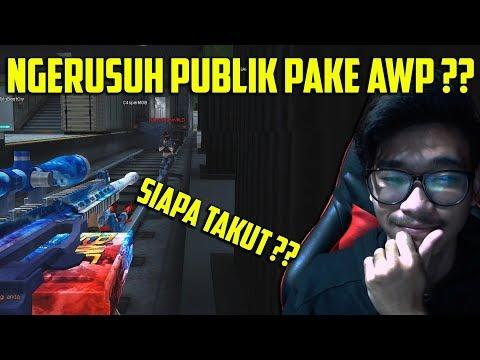 NGERUSUH PAKE AWP NIH BOSKU !! RAZIF SUDAH DI KENAL BANYAK ORANG - POINT BLANK GARENA INDONESIA