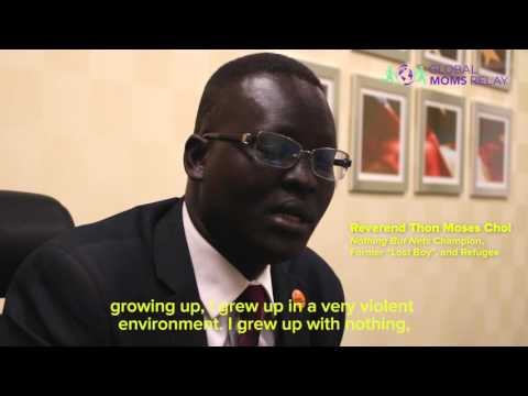 """Reverend Thon Chol on being a """"Lost Boy"""" and helping refugees"""