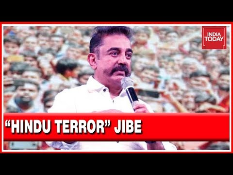 """Independent India's 1st Terrorist Was A Hindu, Nathuram Godse,"" Kamal Haasan In Rally"