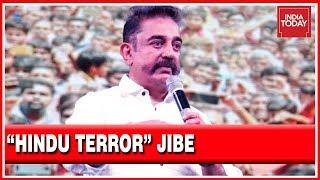 """Independent India's 1st Terrorist Was A Hindu, Nathuram Godse,"" Kamal Haasan In Rally"