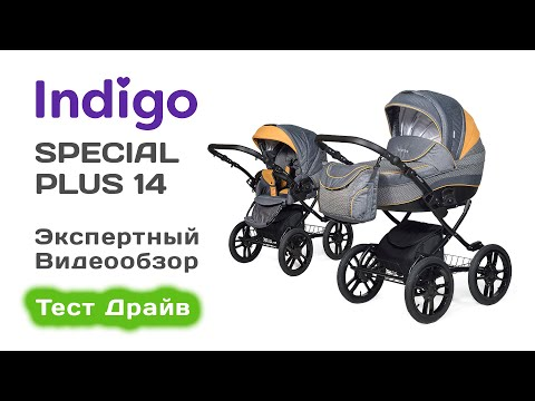 Indigo 18 Special Plus 14 коляска 2 в 1, выбираем с экспертом на Тест Драйве