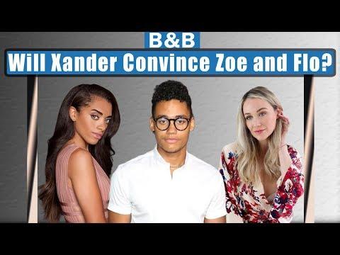 Xander Threatens Zoe