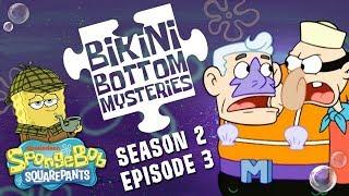 Mermaid Man & Barnacle Boy! 🧜 Bikini Bottom Mysteries: S2 Ep. 3 | #SpongeBobSaturdays