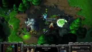 Warcraft 3 TFT SK. MaDFroG (UD) vs SK. Survivor (HU) part 1/2 game 4