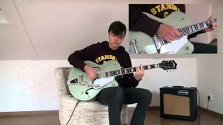 The Raconteurs - Blue Veins Cover  (Gretsch Electromatic G5420T)