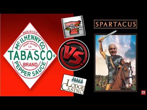 🎰 The Raja Presents: The Tabasco Slot Machine VS. Spartacus Slot Machine! 💰