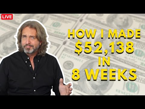 Options Trading For A Living – A Detailed Guide How I made $52,138 in 8 Weeks (CWM Episode 145)