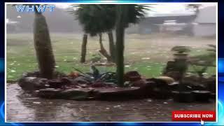 Giant Baseball Sized Hail Storm In KwaZulu Natal, South Africa (April 2019)
