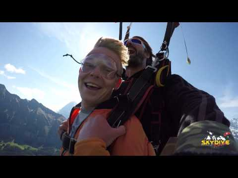 Tandem skydive of Shano in euro Littlehales