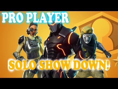 🔴SOLO SHOWDOWN Pro Player enters Solo show down Fortnite live stream xbox one