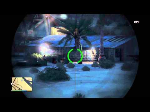 GTA V Missions: #17 Nervous Ron (Trevor)