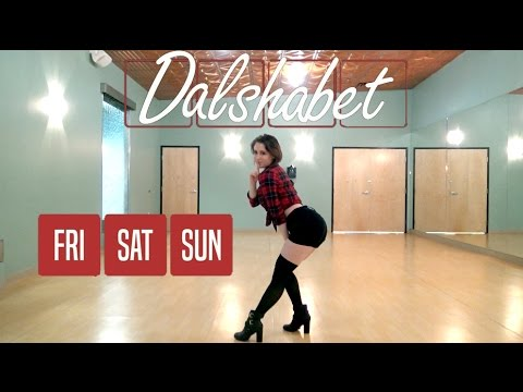 Dalshabet (달샤벳) - Fri, Sat, Sun (금토일) Dance Cover [JBN]