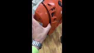 How to replace carburetor, fuel tank vent, fuel filter, Stihl BR 600 Back pack blower