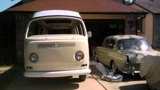 Resurrection of a Bus.- VW Westfalia Camper type 2 poptop