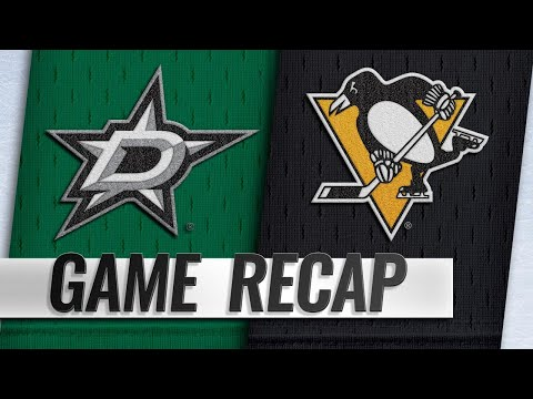 Crosby, Penguins beat Stars to snap skid
