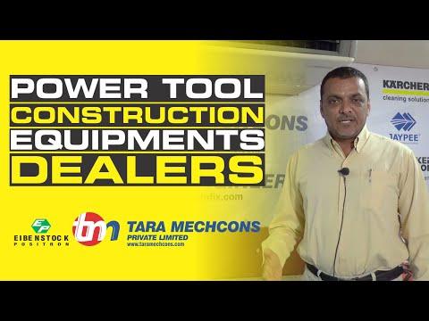 Power Tools: Best Construction Equipments Dealers In Vadodara