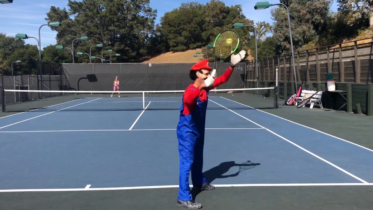 Super Mario Tennis | Trick Shot Tennis