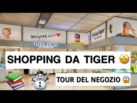 Shopping da Tiger! Tour del negozio! Flying Tiger / Salvo