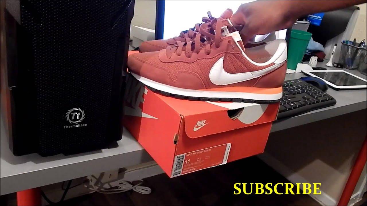 8ce1c07b352a Nike Air Pegasus 83 Review - YouTube