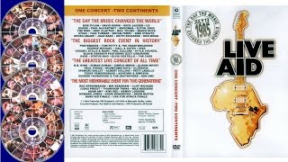 Live Aid - Music DVD Box Set Collection - The Best Concert of All Times