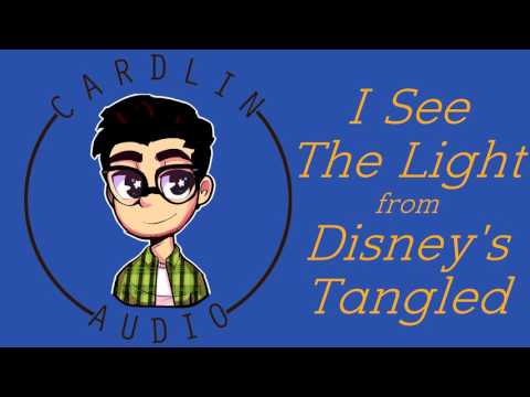 Cardaoke with Cardlin! I See The Light from Disney's Tangled [Sing-along] [Karaoke]