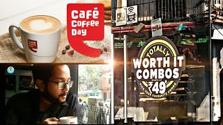 Cafe coffee Day | True experience of the biggest chain in Kolkata | Worth it combo