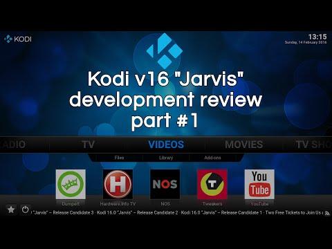 Development review Kodi version 16 - part 1