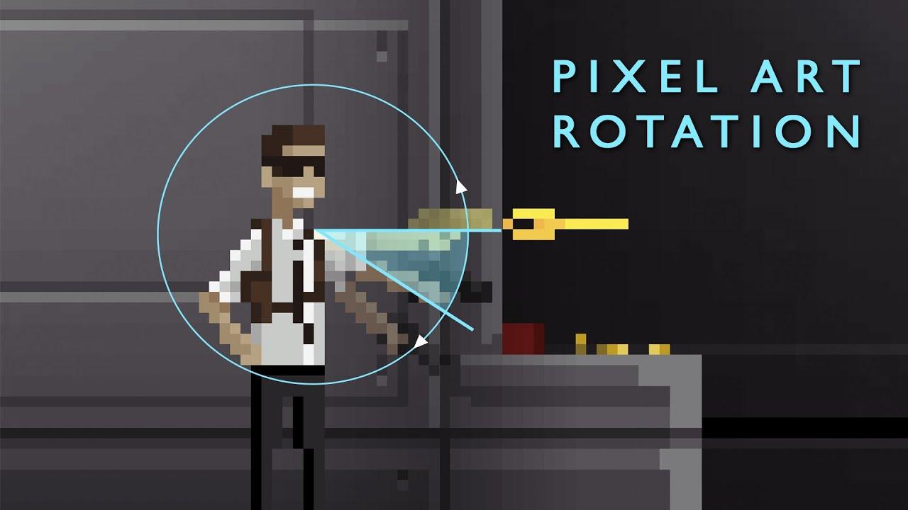 pixel art unity