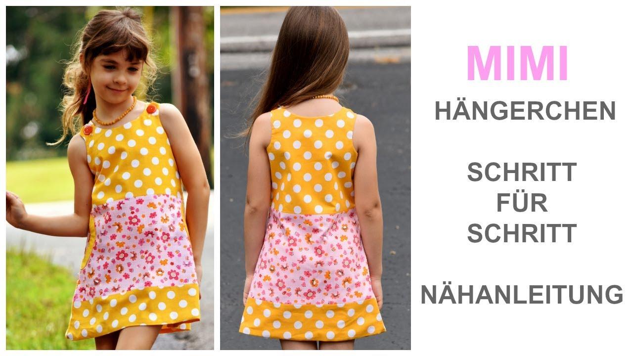 Wie man ein Kleid, Hängerchen, Hängerkleid, Kinderkleid ...