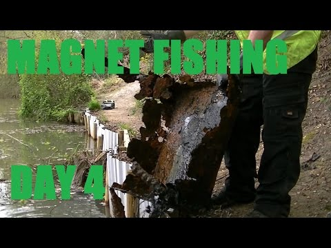 Magnet Fishing - The Knot Man - Treasure Hunting - Day 4 - Alder Hills