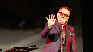 "Elvis Costello sings ""You Shouldn't Look at Me That Way"" and ""Face in the Crowd"" song"