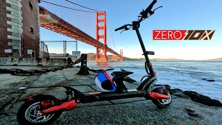 Zero 10x Electric Scooter Ride to New Park and The Golden Gate Bridge in SF  | GoPro Hero 7 RAW FPV