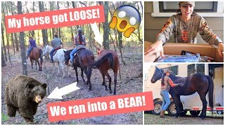 A LOT happened on our TRAIL RIDE! + A Tough1 Unboxing!