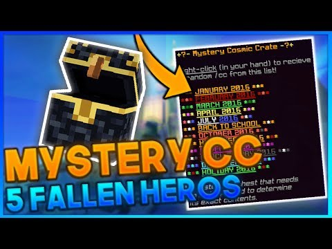 WE GOT THE CORNER...kinda + MYSTERY CC AND 5 FALLEN HEROES CosmicPvP ICE Planet FACTIONS S5 #1