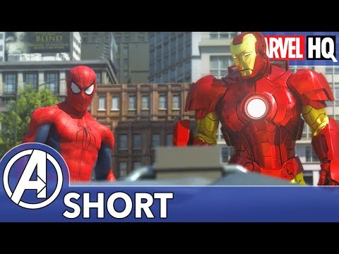 Spidey Meets Iron Man! | The Avengers vs. AIM - Part One | SHORT
