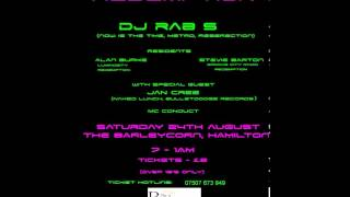 Redemption Sat 24th August - DJ Rab S & MC Conduct
