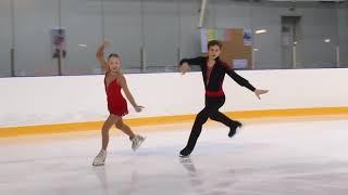 Первенство России в парном катании танц Парное катание KMC Короткая программа 3 Анна ЩЕГЛОВА Ил