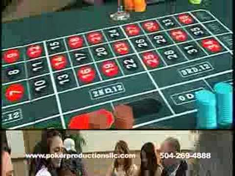 Poker Productions - Casino Party Rental
