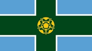 Exercise for Corel Draw - Derbyshire Flag
