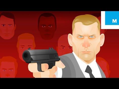 The Animated History Of James Bond (1962-2015)   Mashable