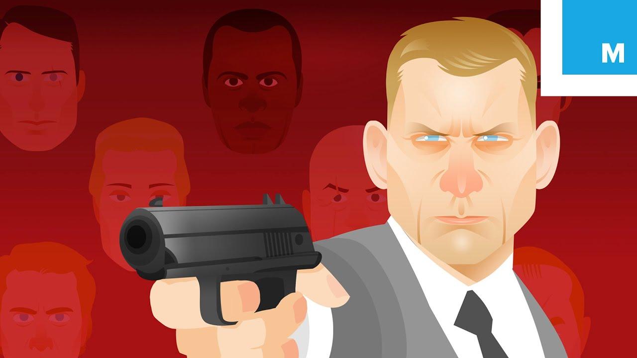 The Animated History Of James Bond 1962 2015 Mashable