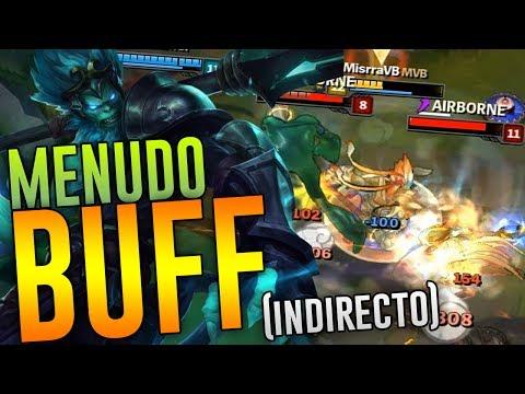 BURSTEOS EN AREA - ¡MENUDO BUFF INDIRECTO! | WUKONG TOP