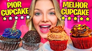 I TRIED THE BEST RATED CUPCAKE AND THE WORST RATED CUPCAKE IN THE APP