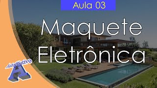 Curso de Maquete Eletrônica com SketchUp - Aula 03/50 Taludes e Platôs - Autocriativo