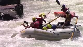 세계에서 제일 위험한 빅토리아 폭포 래프팅(Raftin…