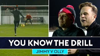 Jimmy NAILS the scissor kick! | Jimmy Bullard vs Olly Murs | You Know The Drill