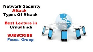 Network Security Attack || Types Of Attack || Active & Passive Attack || Lecture in Urdu/Hindi