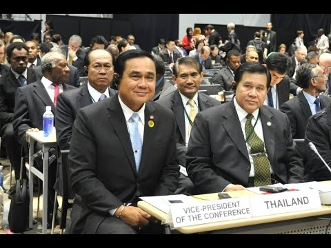 Prayuth Chan ocha Thailand, 2nd Plenary Meeting