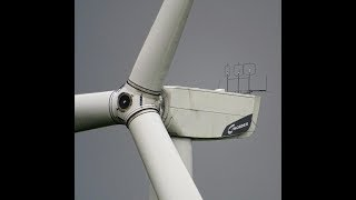 Nordex, Senvion, Enercon Windturbinen drehen sich bei Orkan Sebastian 9/2017